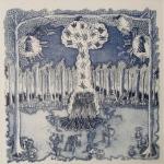 La danza delle falene, Acquaforte e acquatinta, 1993