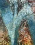 Rocce, acquaforte, acquatinta, 2001
