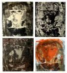 Self Portrait, litografia su pietra, 1997